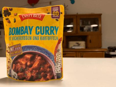 Sieht aus wie Katzenfutter, ist aber köstliches indisches Essen: Tasty Bite